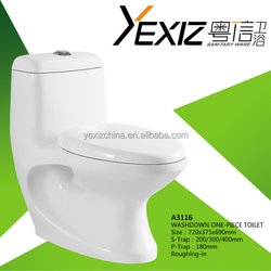 hot bathroom one peice wc toilet sphonic water closet