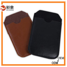 Alibaba trade assurance 2015 hot!!! real pu leather Case cover for iPhone 5