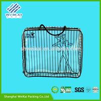 zip lock clothing packaging bag, clear vinyl packaging bags for chothes, Plastic clothes box for gift SHWK0872