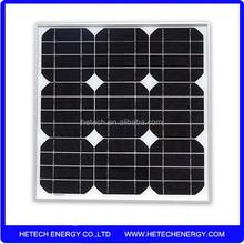 Low mono 20w solar panel price for india market