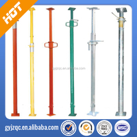 Q235 Adjustable Steel Shoring Props Used In Construction Building, tianjin factory