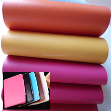 Fancy phone pu case leather,colorful pu leather coated fabric,artificial leather for phone case DG003