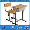 single adjustable school wood desk and bench school chairs for sale