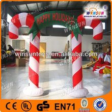 2013 popular sale advertising inflatable christmas stocking