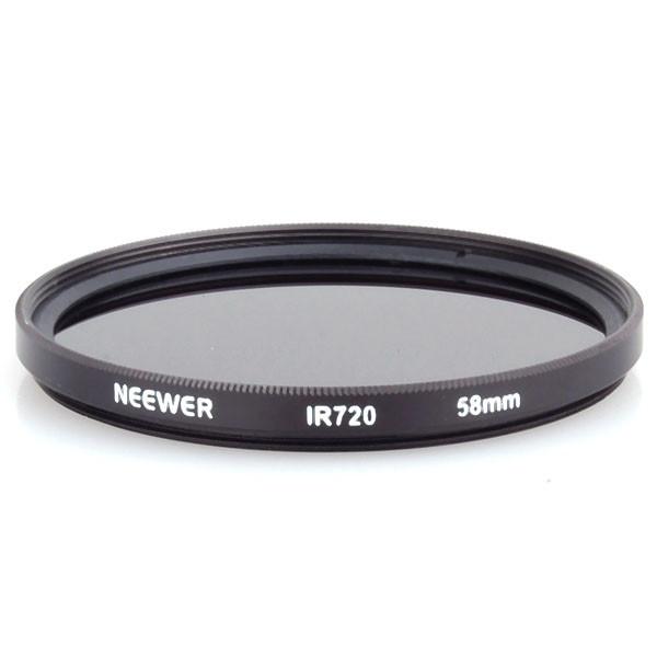 neewer 58mm - ir720 инфракрасный фильтр - для canon eos rebel t2i + любой dslr/зеркальные камеры с потоком фильтр 58mm