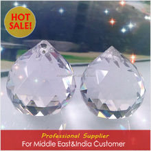 Machine cut cristal ball decor for Middle East&India