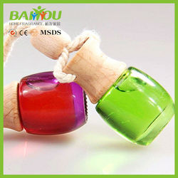 car accessories new products 5ml hanging car air freshener, car air freshener bottle