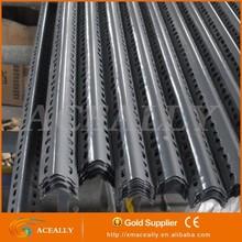 Adjustable slot angle metal rack, angle shelvings, angle iron rack