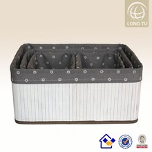 hand-woven wicker small home wire craft basket