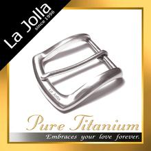 Lightweight pure titanium custom personalize belt buckles for both women or men