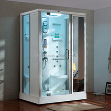 Free Standing 2Person New Design Aluminum Alloy Frame Steam Shower Room (DQ-F8877)