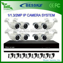 8 channel H.264 Network CCTV NVR System,security camera cover
