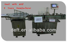 chinese best quality capping production line essential balm filling machine
