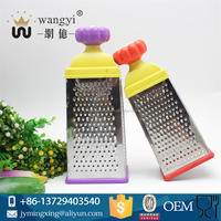 Plastic handle julienne vegetable grater