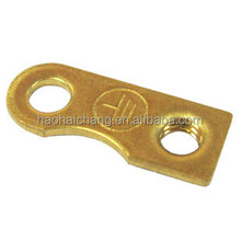 High And Precise Hardware Brass Customized Economic Electric Contact Terminal