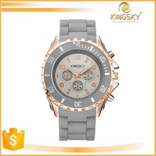 fashion big face lover watch with quartz movement