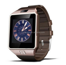 New arrival 1.54'' touch screen DZ09 smart watch mobile phone with android dual sim card smart watch phone