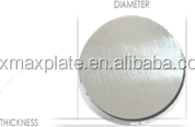 cheap price per kg of aluminum circle produced from ingot