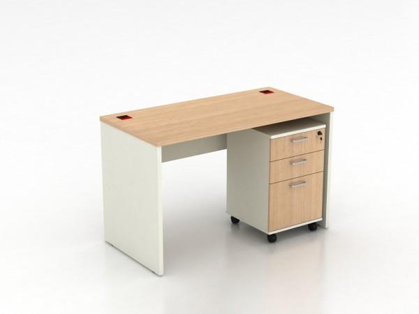 Mobile pi destal tiroir de rangement armoire lat rale pour for Bureau poste 13