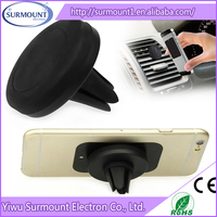 ABS Material and No Charger Magnetic mount air vent car holder