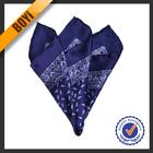 Twill Silk Printed Fancy Handkerchief For Gentleman