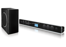 USB/SD/BLUETOOTH/TV/OPTICAL/COAXIAL/FM/ 2.1CH HOME THEATER TV SOUNDBAR SPEAKER , WITH 8 INCHES WIRELESS SUBWOOFER