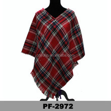 new style latest design high quality ladies poncho and shawls Thick ladies poncho hand ladies poncho