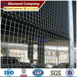 galvanized/PVC Coated cheap metal fence panels