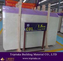 Big Slab Polished Crema Marfil Select Marble in China