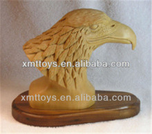 life size resin animal eagle head statues