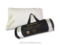 Comfort Bamboo Chips Shredded Memory Foam Pillow QUEEN OR KING SIZE
