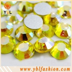 machine cut ss4-ss34 MC citrine color strass stone for lady dress