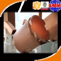 Rectangular Copper Mould Tube/square copper tube/round copper mould tube CCM water jacket,CCM mould,CCM crystallizer