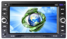 6.2 inch cheap double din touch screen car stereo GPS for Honda fit/city