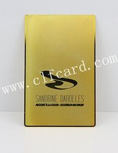 Top quality innovative china brass card makers
