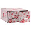 fancy flower cardboard DVD box