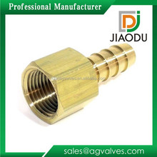 JD-2054 Brass Hose Barb Air Fuel Gas Pipe Brass Quick Connector