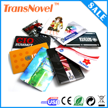 USB Business Card With Both Side Color Printing / USB Card / Credit Card USB