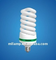 Top sale tricolor and mixed phosphor high power full spiral energy saving bulbs