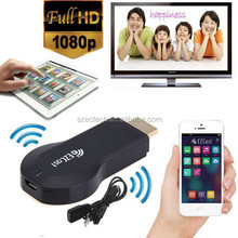 Miracast AirPlay Dongle A2W EZCast android TV Stick for Tablet/ Smartphone Projection Youtube,Hulu Plus,IDMB,Quickflix on TV