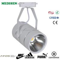 18w BRIDEGELUX chip COB track light clothing store engineering lighting LED light China's export cri>85 1800LM 3 years warranty