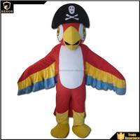 Parrot pirate mascot costume sale
