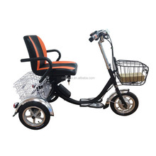 10 inch 48V 350W three wheel electric bike for old people