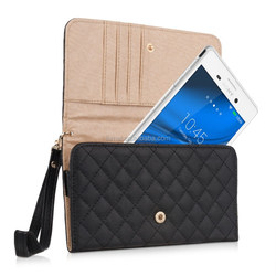 High Quality Luxury Wallet Leather Bag Case For Sony Xperia M4 Aqua