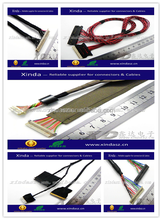 custom high quality wire looms cables to connect electronic keyboard to a digital audio workstation