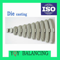 Hot sale Die casting Zn clip on wheel weights