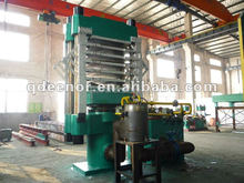 Hydraulic press rubber vulcanizing EVA foam sheet making machine
