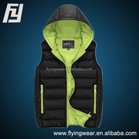 New Casual Men's & Women's Lovers Hooded Cotton-Padded Vest Short Coat & jacket