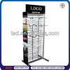 TSD-M050 Custom floor standing metal display shelving/hanging pet collar display/metal display rack(metal plate rack)