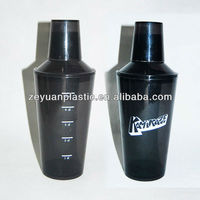 High Quality 3 Section 500ml Plastic Wine Shaker